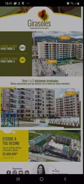 Arriendo apartamento en Cajicá para estrenar, con los mejores acabados, excelente ubicación y precio!!