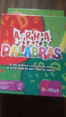 JUEGO ARMA PALABRAS