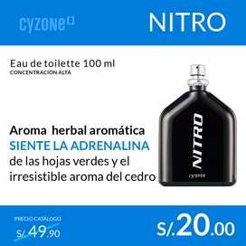 ¡Oferta! Eau parfum VARONES CYZONE originales