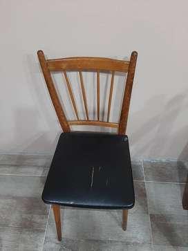 Vendo sillas  a restaurar