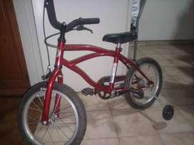 Bicicleta rodado 14 ( Excelente estado)( precio negociable)
