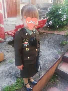 Disfraz Policía para niña