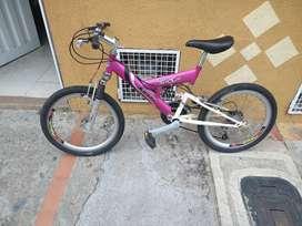 Vendo bicicleta de cambios economica
