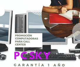 Promoción Compotadoras para Call Center