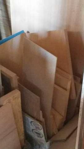 Vendo Recortes de Maderas Fibros Aglomer