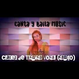 Clases de Técnica Vocal (canto)