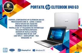 PORTATIL CORPORATIVO HP ELITEBOOK 840 G3