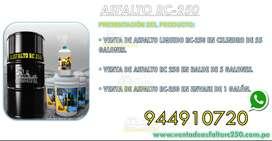 venta de asfalto rc 250 por cilindro de 55 glns y baldes