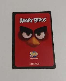 13 Cartas-Figuritas de Angry Birds 2016. Venta o Canje