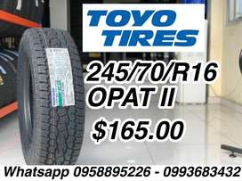 Llanta Toyo 245 70 R16
