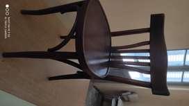 Sillas Thonet originales de madera