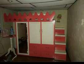 Armario - Closet bajo cama + colchon