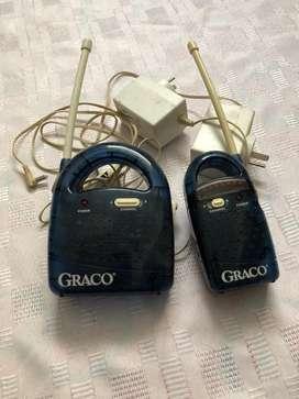 BABY CALL GRACO FUNCIONANDO COMPLETO C/DOS TRANSFORMADORES A 220 W.