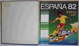 ÁLBUM MUNDIAL DE FÚTBOL ESPAÑA 82 - PANINI