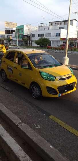 Se vende taxi Kia picanto en Barrancabermeja