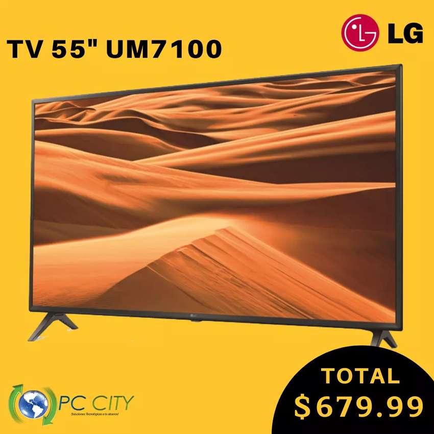 """TV LG 55"""" UM7100 4K 0"""