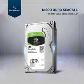 Disco Duro Seagate Barracuda 1tb Con Garantía Delivery