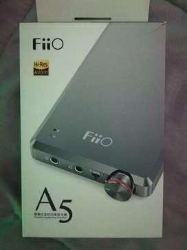 Amplificador de audífonos Fiio A5