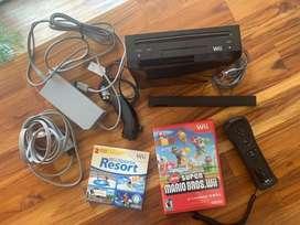 Vendo Wii y 2 juegos $400.000