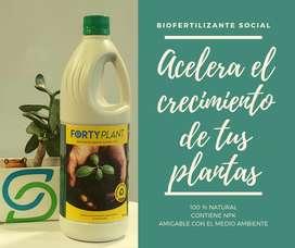 Forty plant: Biofertilizante NPK