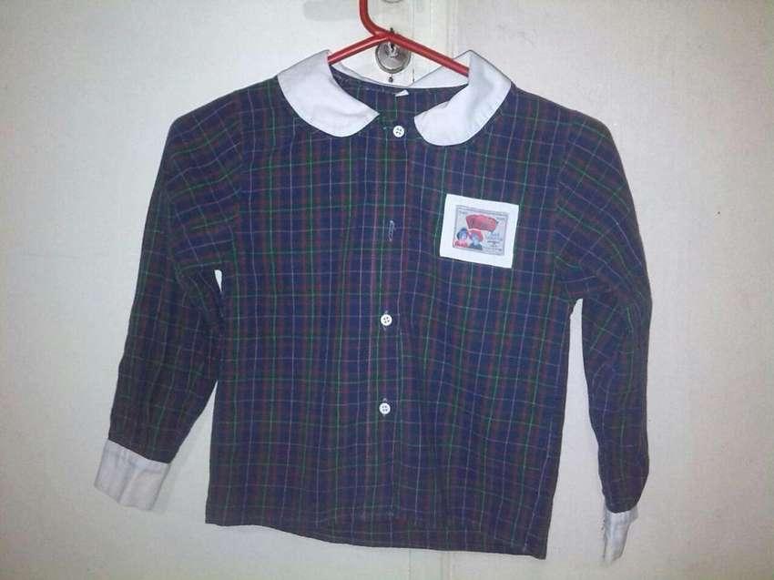 1 camisa cuadrillé t.4 0