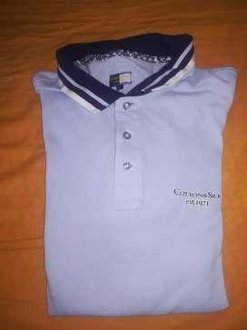 Polo de Cuello Cotton Silk