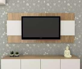 Panel para tv con soporte incluido