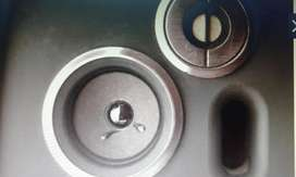 Parlante Bafle Aiwa 3 Way Reflex Speaker System Ohm 3.2