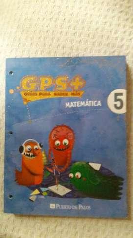 Gps Libro de Matematica 5