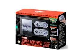 Super Nintendo classic clásico SNES mini