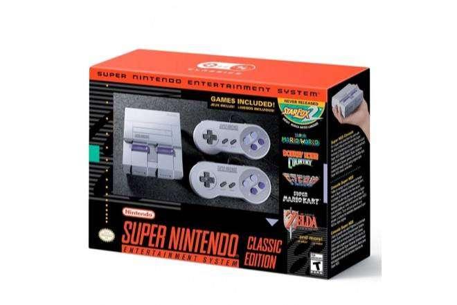 Super Nintendo classic clásico SNES mini 0