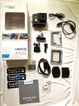 Gopro Hero+lcd. Excelente Estado Muy Poco Uso Accesorios Completos