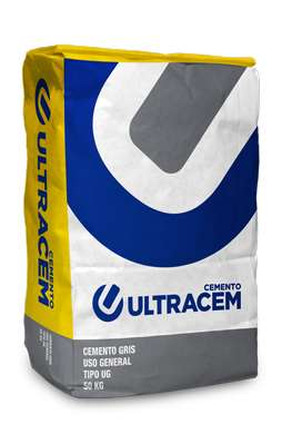 Cemento Gris Uso General Ultracem 50 kilos