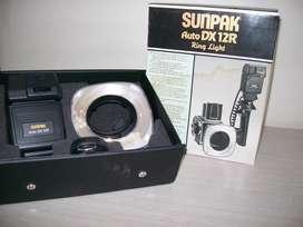 FLASH ANULAR PROFESIONAL SUNPAK AUTO DX12R