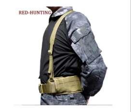 Cinturón Táctico Militar En H Acolchado