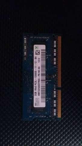 Memoria DDR 3 2 GB