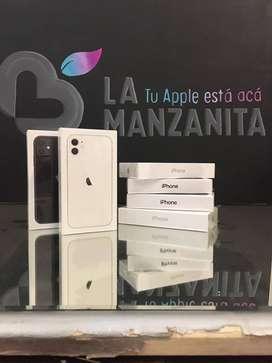 iPhones 11 de 64gb y 128gb nuevos en caja sellados (te lo enviamos a tu casa)