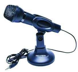 Micrófono Pc Con Soporte Netmak Nm-mc2