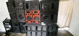 vendo sistema de audio profesional