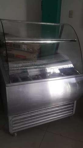 En venta exhibidora de helados de 7 posas