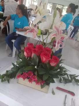 Arreglos florales a domicilio