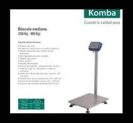 COMPRA NUEVO 0KM - Bascula - BALANZA DIGITAL 300 Kg Systel KOMBA CON MASTIL / TORRE