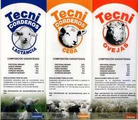 Concentrado para ovinos, ovejas, corderos Medellin