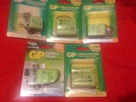 Vendo baterias para telefono inalambrico