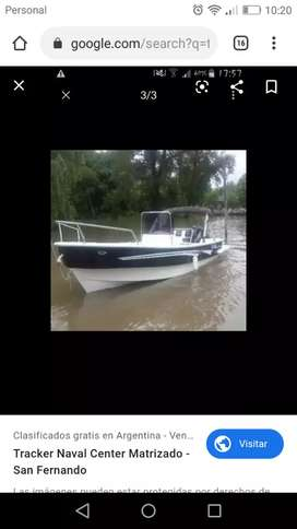 Embarcación 520 yamaha 90 hp 2t