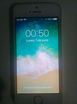Vendo Iphone 5s Gold dorado 16 GB