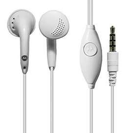 Auriculares Manos libres Motorola Originales Clasicos Moto G8 Play G8 Plus