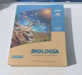 Libro De Biología Aduni, en buen estado