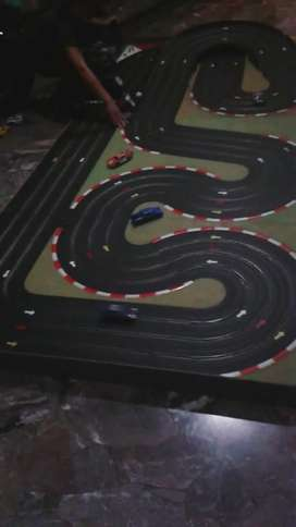 Pista Scalectric 2.80 Metros con 8 Autos