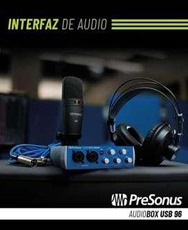 INTERFAZ  AUDIOBOX 96 USB- NUEVA!!!